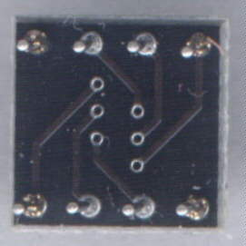 SOIC-to-DIL adaptor